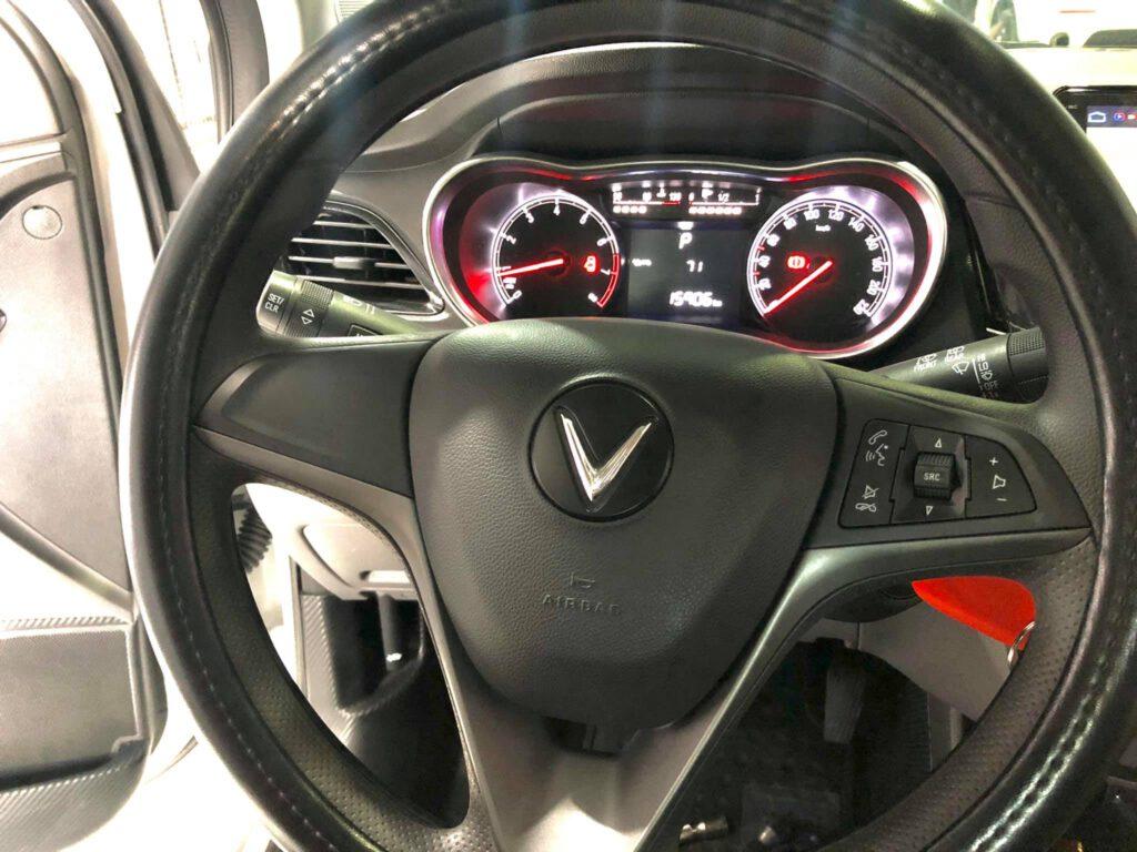 Lắp nút khiển vô lăng xe Vinfast Fadil