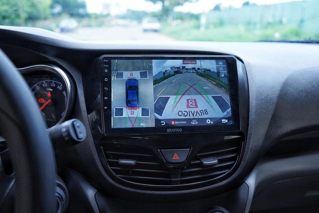 Lắp màn hình 360 cho xe Vinfast Fadil