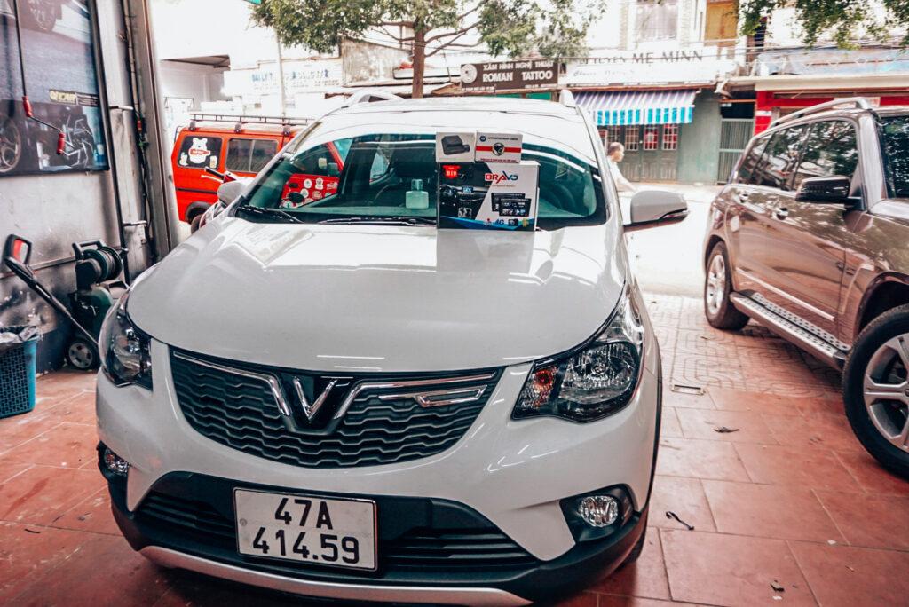 Màn hình giá tốt xe Vinfast Fadil