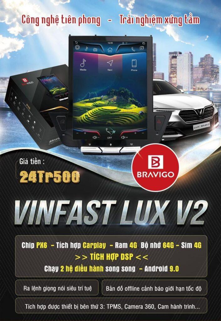 Bản giá màn hình Bravigo Lux V2