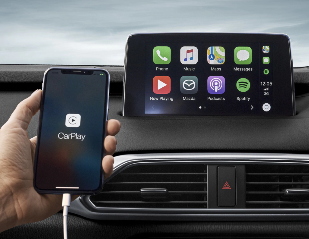 Tính năng Apple CarPlay trên ô tô
