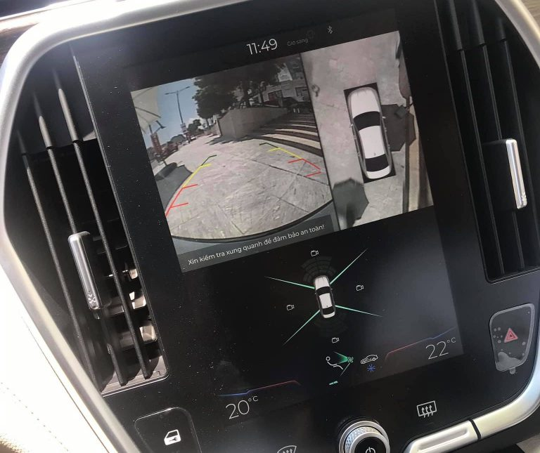 Camera 360 zin theo xe Vinfast Lux