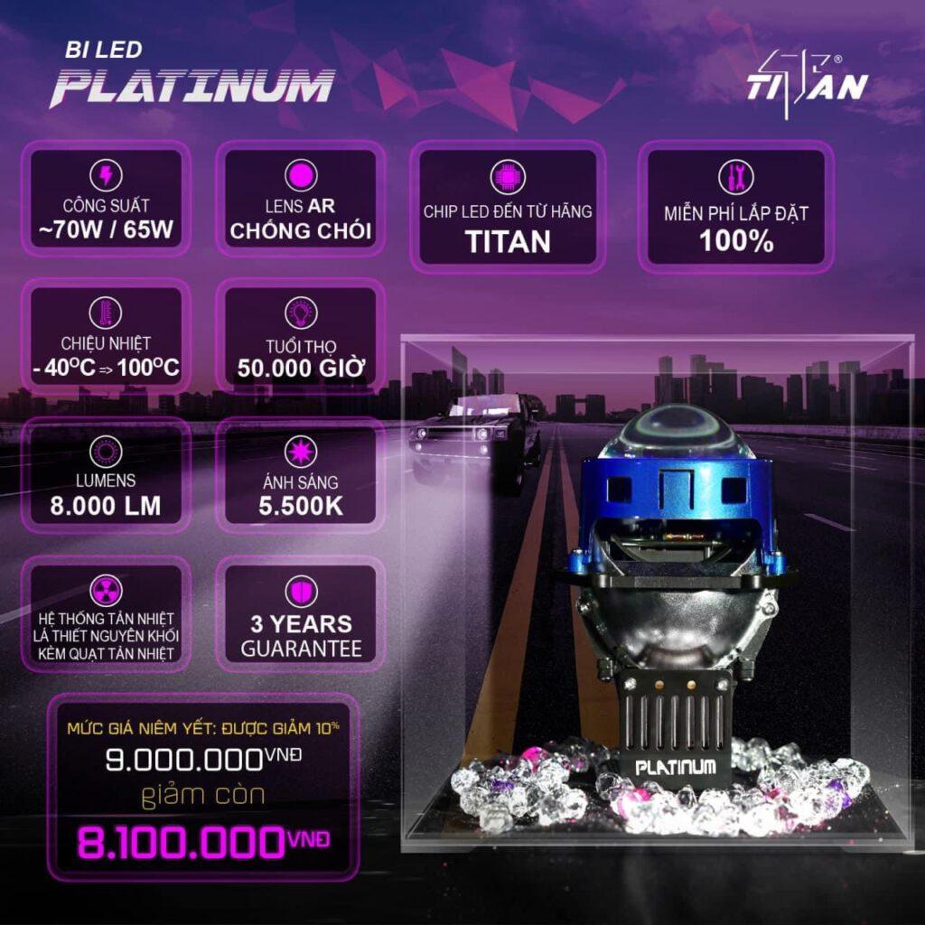 Bi LEd TiTan Platinum