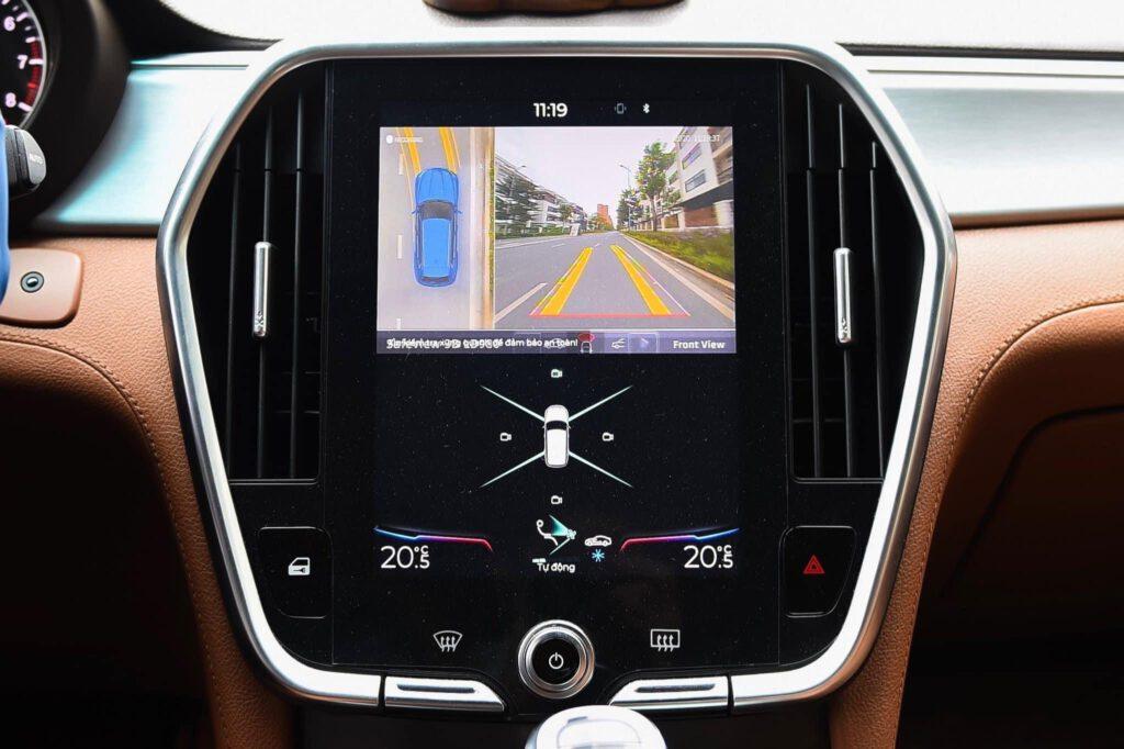 Camera 360 Safeview lắp màn hình zin