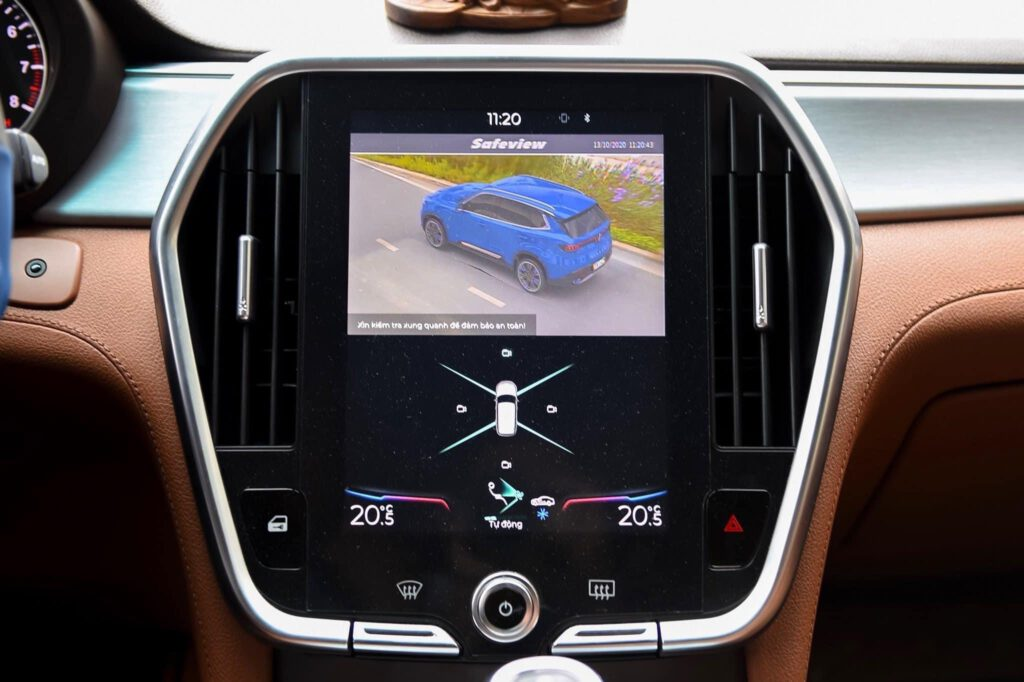 Camera 360 Safeview lắp màn hình zin mô phỏng toàn cảnh 3D