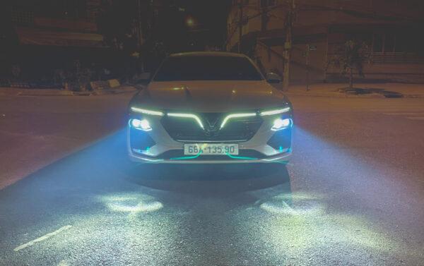 Độ đèn xe Vinfast Lux giá tốt
