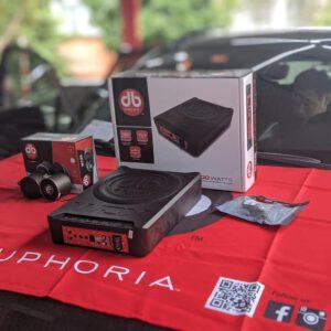 Sub gầm DB Drive DRIVE WDX-AS10 và Loa DB 2.5FR full range