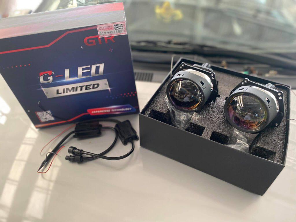 Độ đèn bi Led giá rẻ cho xe Vinfast Fadil   G-LED LIMITED