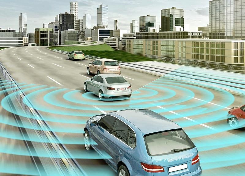 Radar hoạt động tần số 24 GHz, quét xa 25m