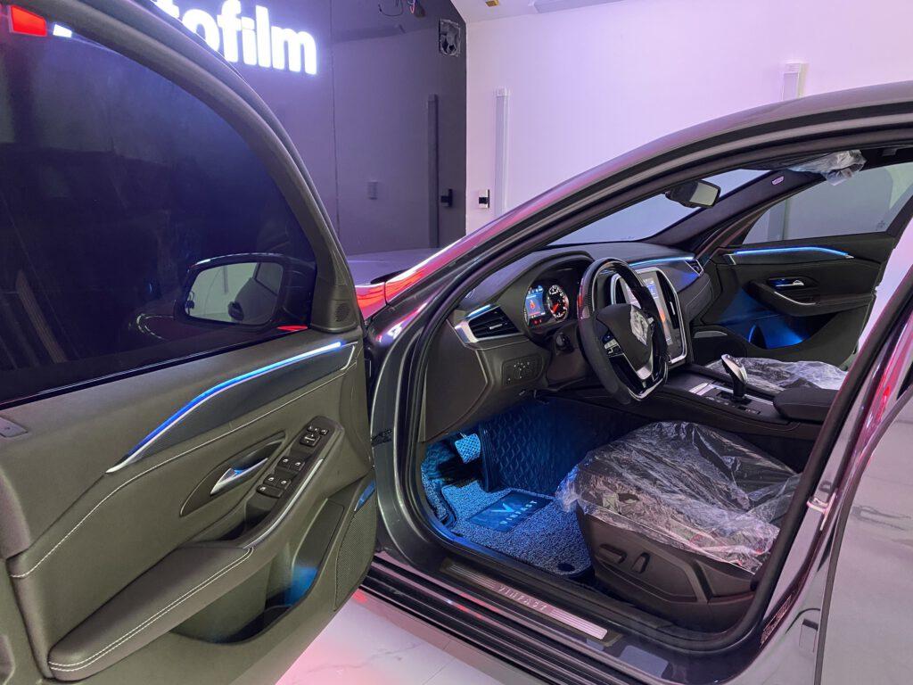 Đèn led viền nội thất xe Vinfast cao cấp