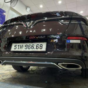 Líp pô xe Vinfast Lux A mẫu Merc