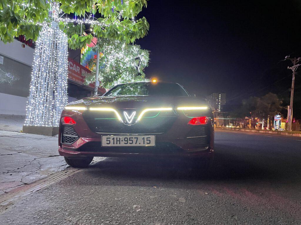 Độ đèn xe Vinfast Lux Lux A, Lux SA | Combo 4 bi Led và Laser TiTan Platinum