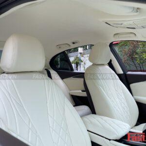 Độ nội thất Maybach cho xe Vinfast Lux A độ nội thất Maybach trần bọc da trơn đồng màu