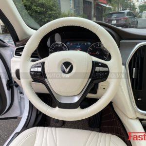 Độ nội thất Maybach cho xe Vinfast Lux A độ nội thất Maybach vô lăng bọc da nhẹ nhàng
