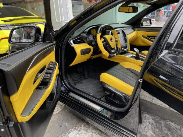 Độ nội thất xe Vinfast Lux A