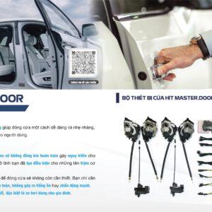 Độ cửa hít giá tốt cho xe Vinfast