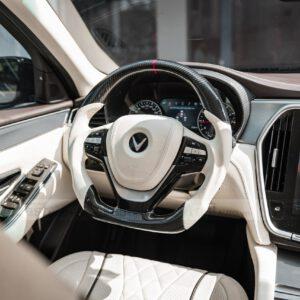 Độ nội thất Maybach cho xe Vinfast Lux A độ nội thất Maybach vô lăng thể tao carbon