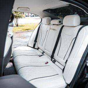 Độ nội thất Maybach cho xe Vinfast Lux A độ nội thất Maybach hàng ghế sau