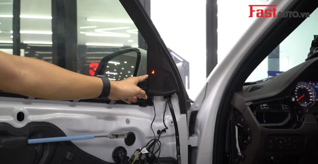 Độ cảnh báo điểm mù xe Vinfast   Cảnh báo điểm mù BSM-01