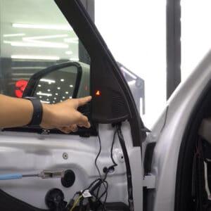 Độ cảnh báo điểm mù xe Vinfast | Cảnh báo điểm mù BSM-01