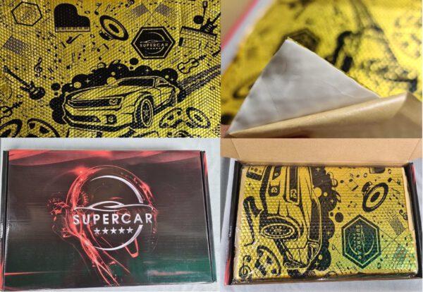 Vật liệu cách âm SuperCar nhập khẩu nguồn góc rõ ràng